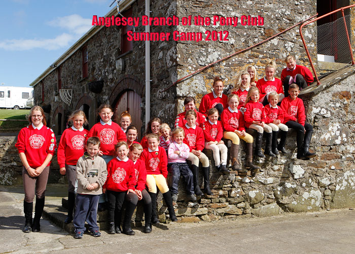 Anglesey Branch Of The Pony Club Summer Camp 2012 » Anglesey