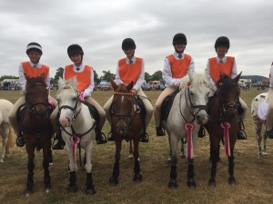 5th place for Bramham Moors Senior Mounted Games Team