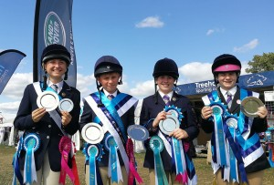 A very successful day at the Pony Club Championship. Team champions as well as an individual junior & senior champion.