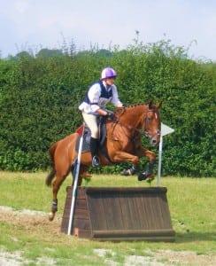 Faye jumping