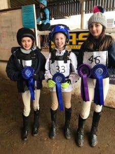 70CMS Girls winning team
