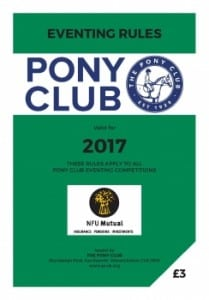 2017 Eventing Rule Book