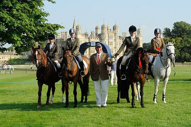 Belvoir Hunt Branch win Burghley PC SJ 2013