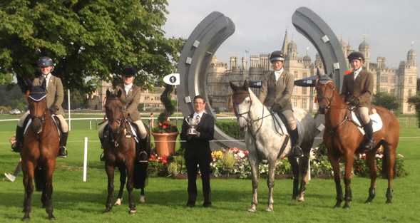 Belvoir Hunt Team - Winners Burghley PC SJ 2014