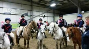 junior mounted games team january