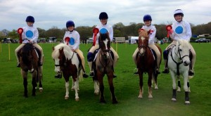 Mounted games area team April 19th 2015 - 2nd place
