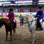 Dumfriesshire Team Show Jumping- Sophie Hayton and Hannah Robinson