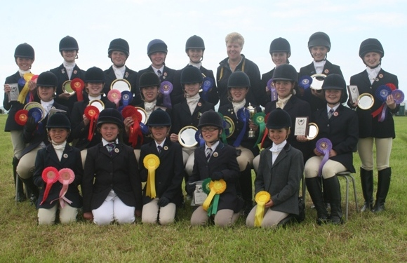 East Antrim Pony Club - Area Dressage 2011