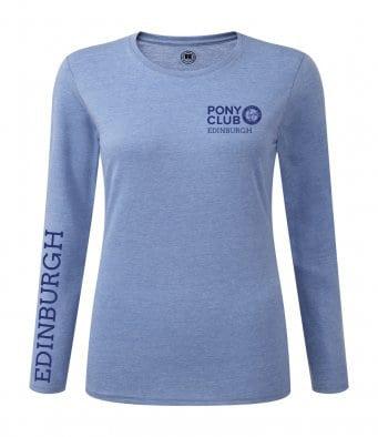 long sleev T blue