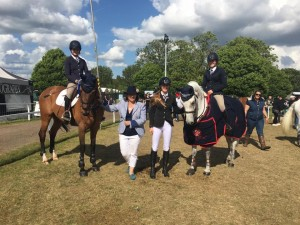 Area 8 Pony Club Show Jumping at Windsor