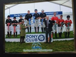 And here is EHNPC member Hollie and her polocrosse team mates from Area 8 taking the top spot on the podium. Well done Hollie!!!