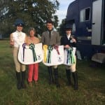 Intermediate Eventing Team 3rd with DC!