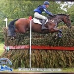 Leilia Paske riding Fernhill First Friend 3rd Individual Open Eventing PC Champs 2016