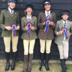 Novice Show Jumping Team 1st