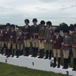 Novice Show Jumping Team 1st and 3rd
