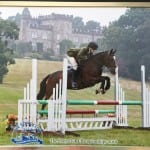 Kitty and Egan Novice Show Jumping Team 10th