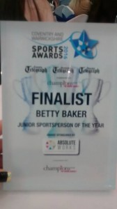 betty sport award