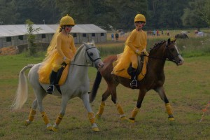 Yellow Munchkins (Lucy Ayres & Amy Parry)