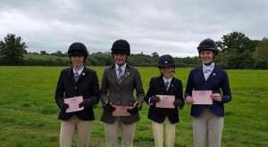 Success at C+ Test for Natalia Morrison, Lydia Webster, Ellie Henry and Teagan Manning - Well Done!