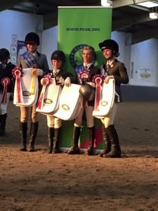 Grassroots Dressage Winners 2016