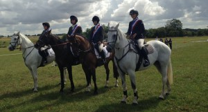 OUR SHOW JUMPING TEAM WHO QUALIFIED AT CALMSDEN FOR THE NATIONAL CHAMPIONSHIPS