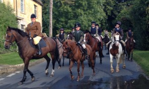 MOUNTED HUNTING RALLY FOR MEMBERS TO UNDERSTAND HUNTING