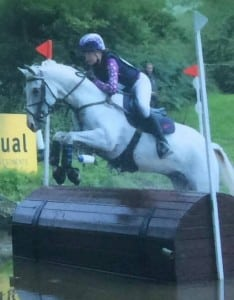 Sophia and Corrie, 3rd in the Novice eventing.