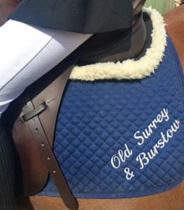 OS&B Branch Saddle Cloth