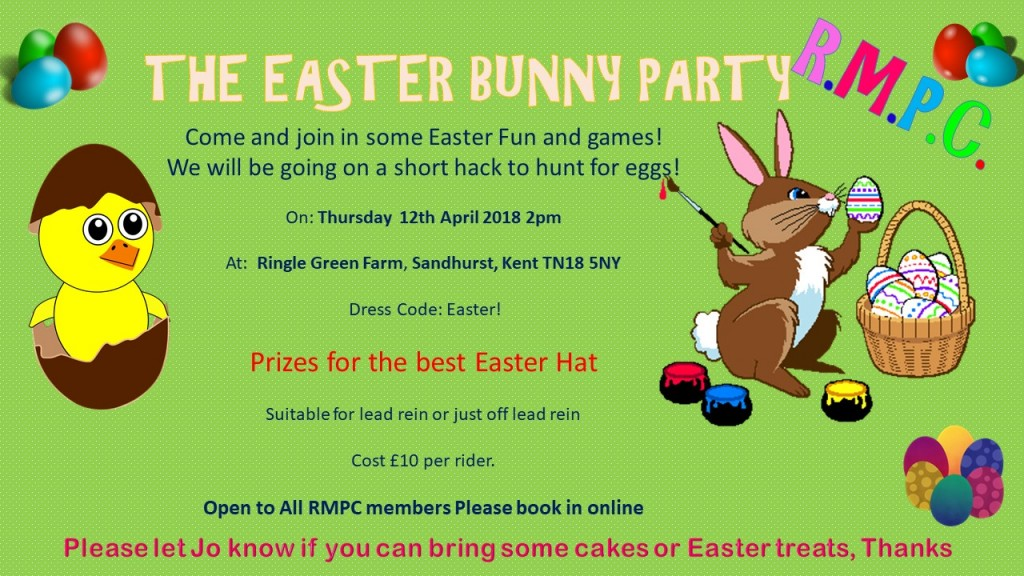 Easter Bunny Party 2018