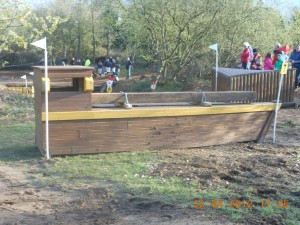 boat before water jump.