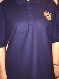 pc polo shirt front badge