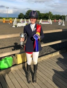 2018 Individual Intermediate Eventing winner