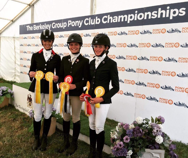 Area 7 Combined Dressage Team 2018