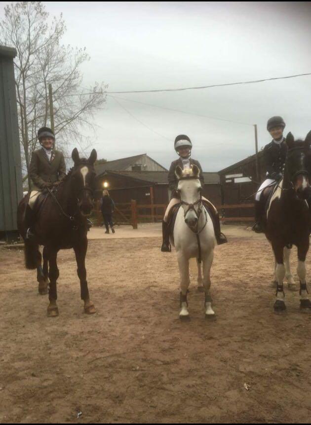 South Shropshire Pony Club Rodbaston Show Jumping team September 2017