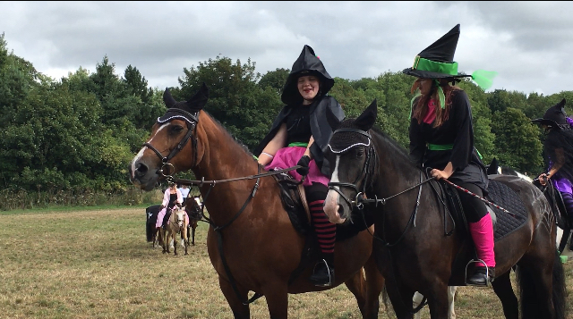 Witchcraft Musical Ride - South Shropshire Pony Club 2018