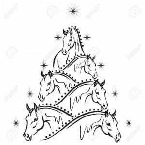 christmas_horse_clipart