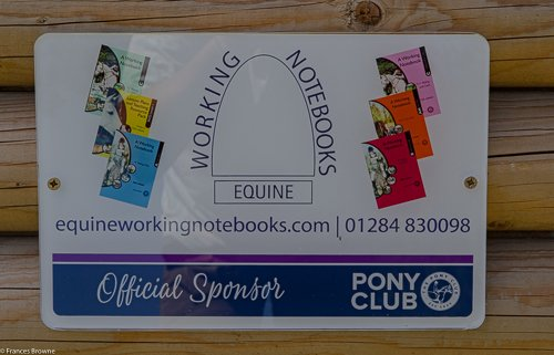 Fence 5-Kindly sponsored by Equine Working Notebooks.