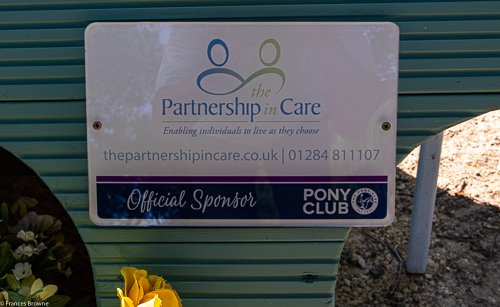 Fence 8 -Kindly sponsored by The Partnership in Care