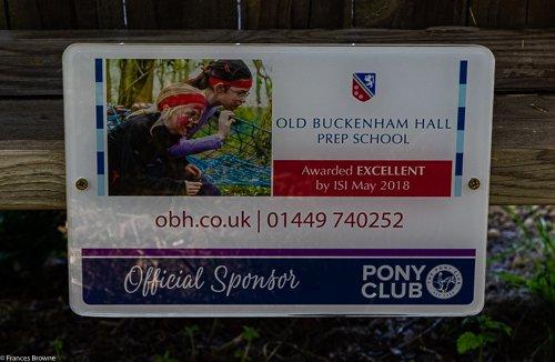 Fence 9-Kindly sponsored by Old Buckenham Hall Prep School