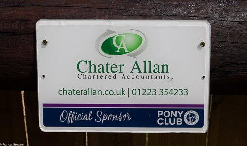 Fence 12 -Kindly sponsored by Chater Allen  Chartered Accountants