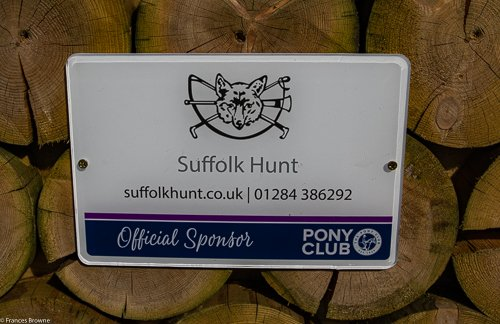 Fence 13 -Kindly sponsored by The Suffolk Hunt