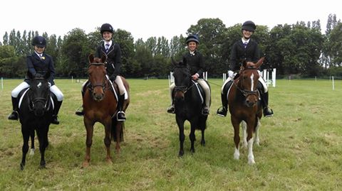 Dressage Team June 2016