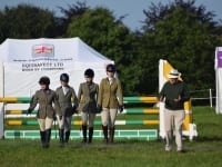 Show Jump Team course walk with Brian Hutton