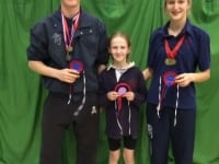 VWH Triathlon Winners, Harry Stevens, Bella Stevens and Miranda King.