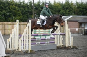 Holly and Jewel winning the Grand Prix to qualify for the Dengie final