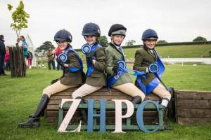 Area 2 Grassroots Champions The Zetland Team: Jessica Burnham, Keeva Johnson, Lydia Turnbull and Ruby Todd